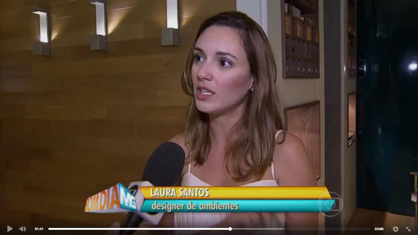 Laura Santos TV GLOBO – Jornal Globo Minas